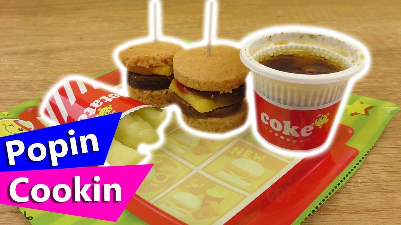 Popin Cookin Diy Burger Asia Burger Diy Set Mini Essen Selber