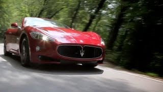 NEW 2013 Maserati GranCabrio Sport - Official Movie