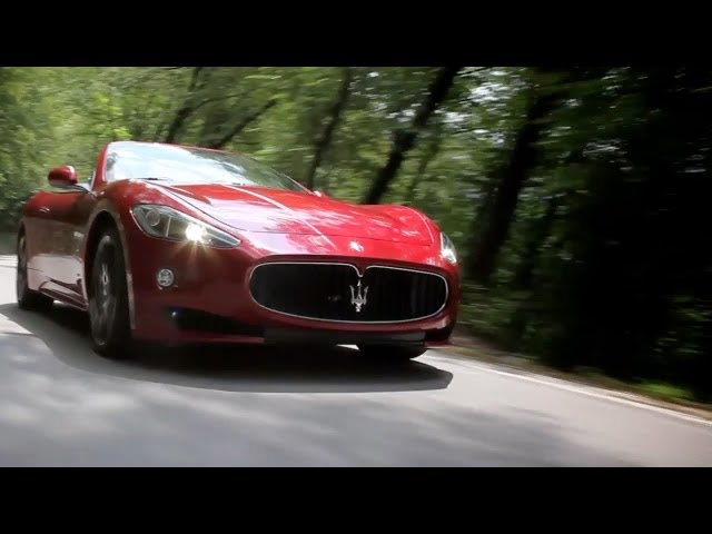 New 2013 Maserati Grancabrio Sport Official Movie Video Watch Now