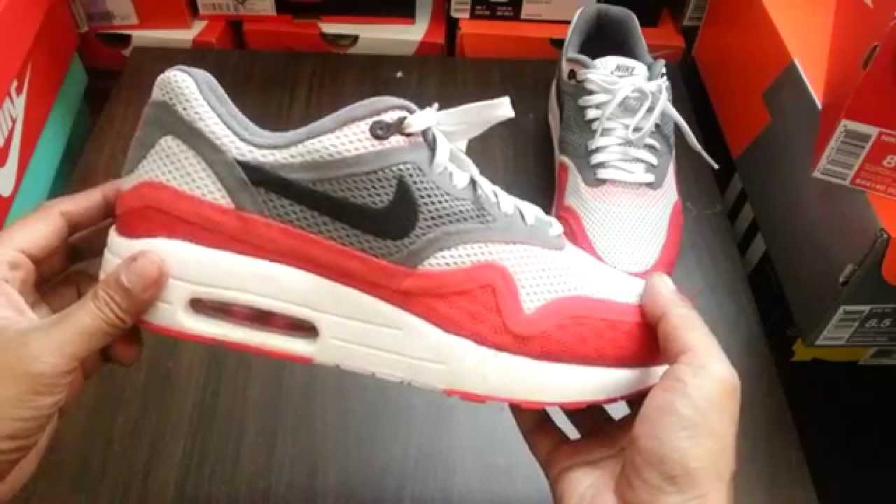 UnboxingReview Nike Air Max 1 Breathe