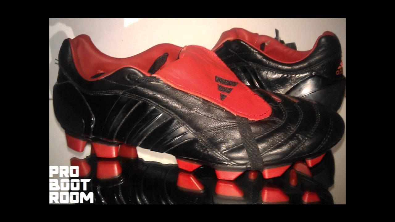 ac4fe7f03823 BNWT ADIDAS PREDATOR PULSE BLACKOUT FG UK 9 FOOTBALL BOOTS    - YouTube