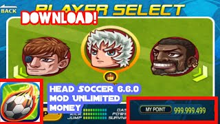 Gambar cover [เเจกเกม] Head Soccer 6.6.0 Hack Mod Unlimited Money (No Root)