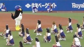 2018/08/26 スワローズ対ベイスターズ@神宮球場 試合前のダンスパフォー...
