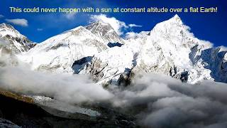 Everest debunks flat Earth!