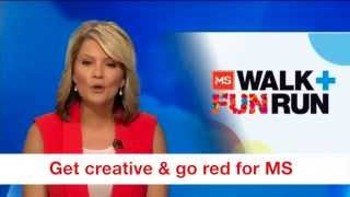 A personal invitation from Sandra Sully to take part in the MS Walk and Fun Run