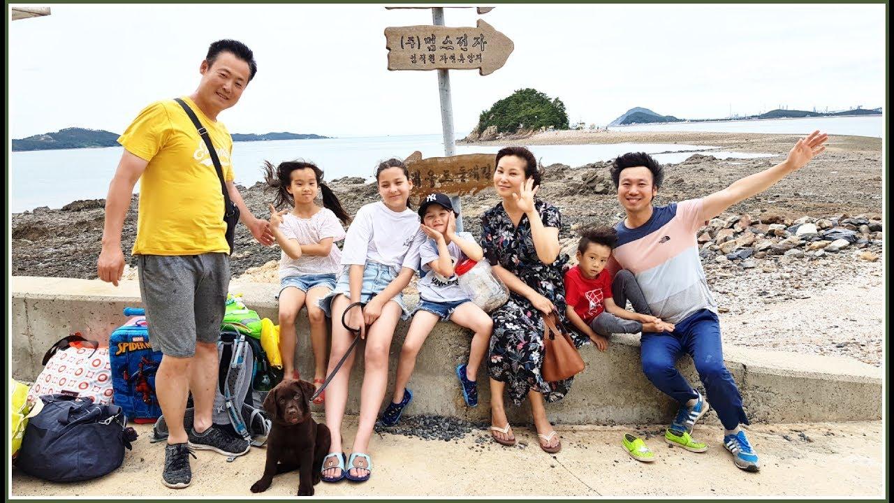 Отдых по-корейски! Приехали на остров;) KOREA/ VLOG/