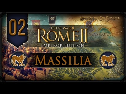 Total War Rome II: Emperor Edition ~ Massilia Campaign #2 - Lending a Hand!