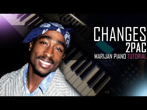 How To Play: 2Pac  Changes  Piano Tutorial Lesson + Sheets