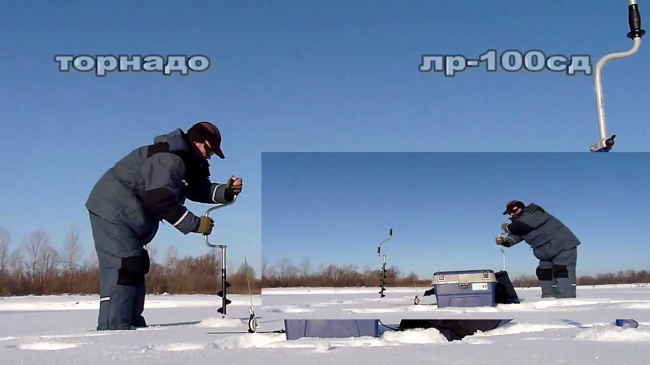 Титановый ледобур 130мм (автор Ильяс Мусеев г. Ижевск) - YouTube