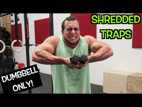 Intense Tabata Dumbbell Trap Workout (HIIT)