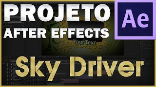 After Effects - Download e Uso Projeto SkyDrive