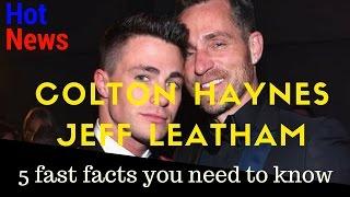 colton haynes and jeff leatham| colton haynes fiance| jeff leatham| is colton haynes gay