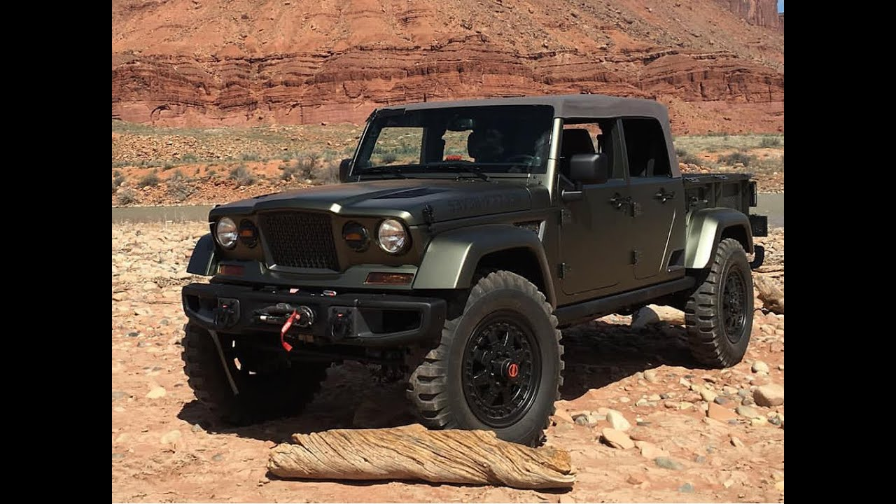 2016 Jeep Crew Chief 715 Concept 1st Drive In Moab