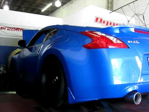 aam nissan 370z dyno baseline youtube. Black Bedroom Furniture Sets. Home Design Ideas