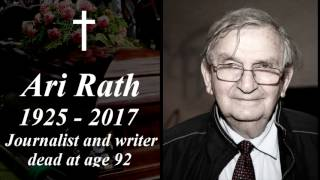 Ari Rath Tribute 1925 - 2017