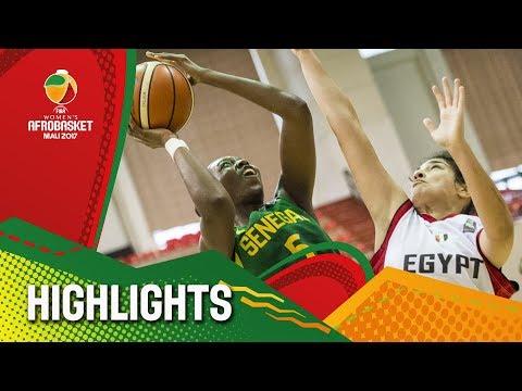 Egypt v Senegal - Highlights - FIBA Women