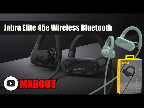 Jabra Elite 45e Wireless Bluetooth Headphones Review !!