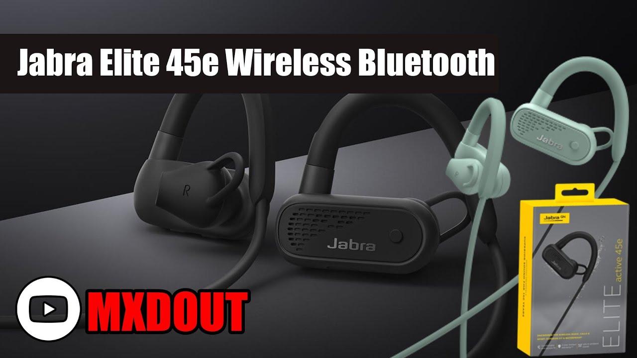 530e186b452 Jabra Elite 45e Wireless Bluetooth Headphones Review !! - YouTube