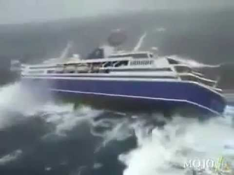 Tsunami hit Indonesia
