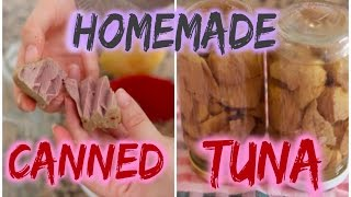 Homemade Canned Tuna | Syrina's Delights