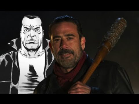 "The Walking Dead: Negan Introduction Show vs Comic Comparison (6x16) ""Last Day On Earth"""
