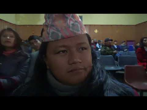 Tirtha Shrestha speech Nepal international film festival Pokhara