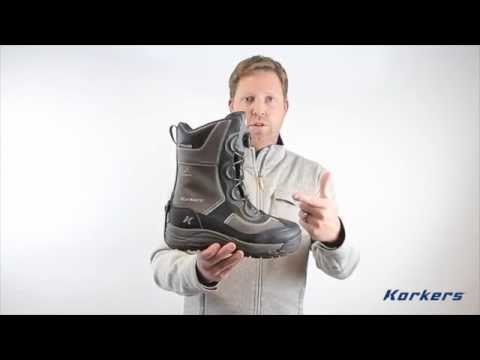 Korkers IceJack BOA Winter Boot - Gun Metal