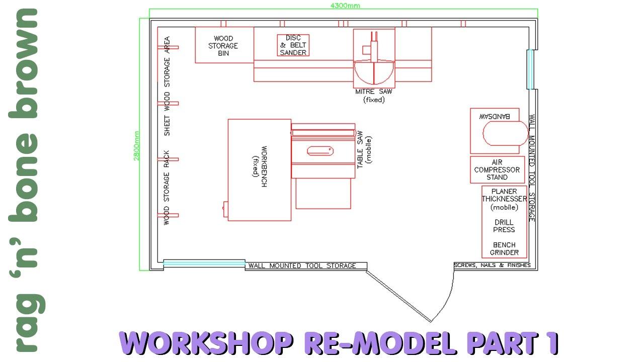 small workshop layout changes a quick introduction workshop re model episode 1 [ 1280 x 720 Pixel ]