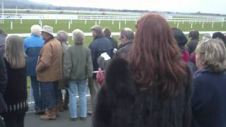 Anxious moments during the bumper...