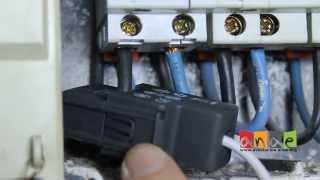 Instalacion del sistema de monitorización de electricidad web Engage Hub