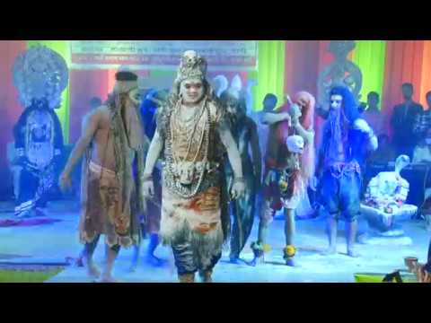 शिव तांडव और अभिषेक | Manoj Riya & Party Delhi | एक शाम गौ माता के नाम – वापी | माताजी ग्रुप
