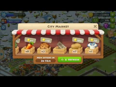 TOWNSHIP GAME GETTING COINS QUICKLY HD 1080p