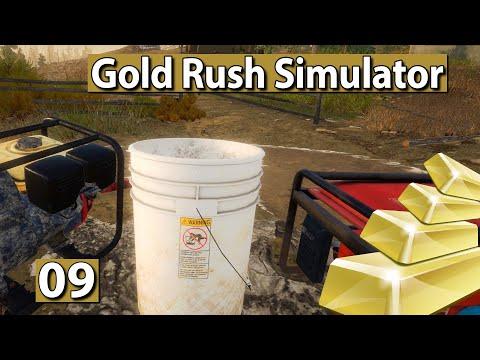GOLGRÄBER SIMULATOR | Experimente mit Goldmengen ► #9 Gold Rush Gameplay deutsch