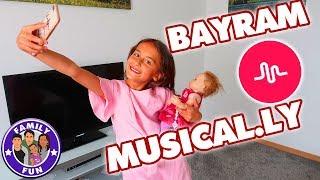 BAYRAM FEIER MUSICAL.LY Spezial - Mega ÜBERRASCHUNG GEGLÜCKT - Family Fun