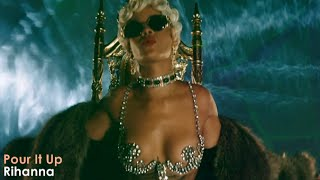 Repeat youtube video Rihanna - Pour It Up (Official Video) [Lyrics + Sub Español]