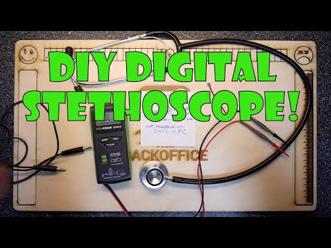 Teardown Lab - Build your own digital stethoscope!