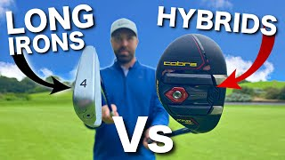 THE DIFFERENCE - LONG IRON SWING Vs HYBRID SWING
