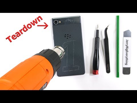 Blackberry Motion Teardown - Do not trust around Water...