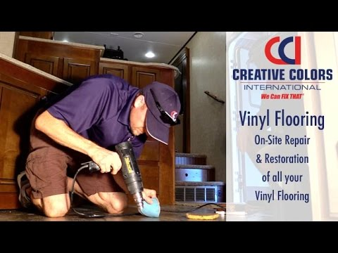 Linoleum and Vinyl Floor Repair | We Can Fix That!