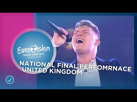 Michael Rice - Bigger Than Us - United Kingdom - National Final Performance - Eurovision 2019