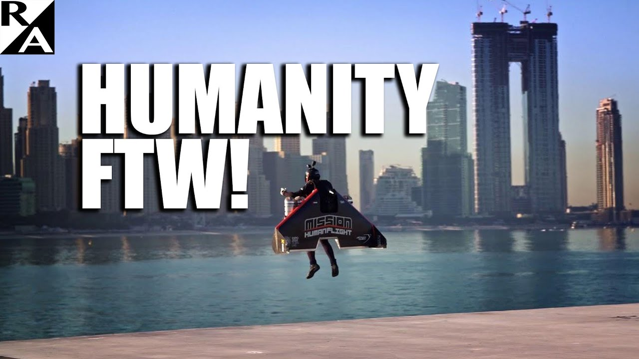 Your Jetpack Future is Here! Jetman Goes from Earth to 6,000ft in Seconds