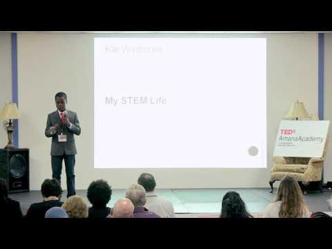 My STEM Life | Kai Winborne | TEDxAmanaAcademy