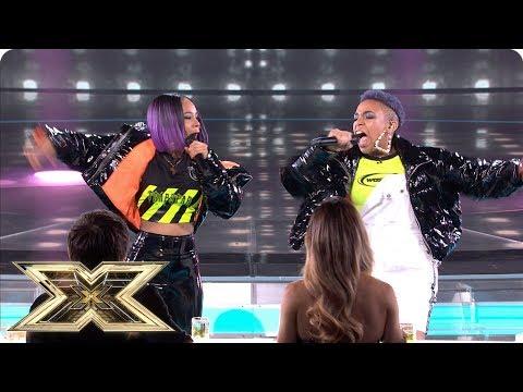 Acacia & Aaliyah Sing Bang Bang In Sing-off | Live Shows Week 5 | The X Factor UK 2018