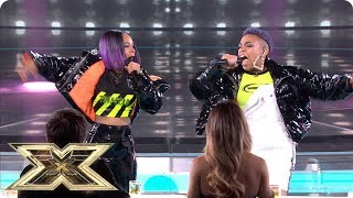 Acacia & Aaliyah sing Bang Bang in sing-off | Live Shows Week 5 | The X Factor UK 2018