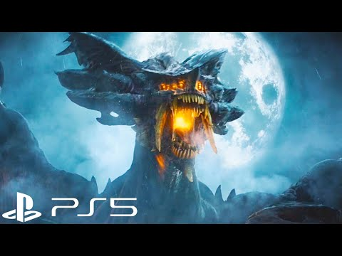 Demon S Souls Ps5 Remake Reveal Trailer Demon S Souls Playstation 5 Youtube