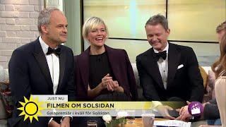 Filmen om Solsidan drar till Skåne Folk i morgonrockar stannade och tittade man visste inte