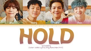 "Gambar cover WINNER ""Hold (뜸)"" (Color Coded Lyrics Eng/Rom/Han/가사)"