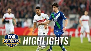 Video Gol Pertandingan Vfb Stuttgart vs Wolfsburg