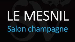 How to Pronounce Le Mesnil (Salon Champagne) - French Wine Pronunciation
