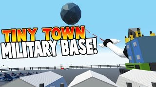 SUPER TANK & MILITARY BASE! - Tiny Town VR Gameplay For Kids - Best Lego & Toy Model Game For Kids